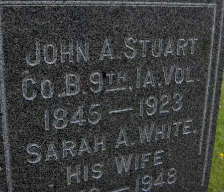 STUART, SARAH A. - Jones County, Iowa | SARAH A. STUART