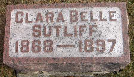 SUTLIFF, CLARA BELLE - Jones County, Iowa | CLARA BELLE SUTLIFF
