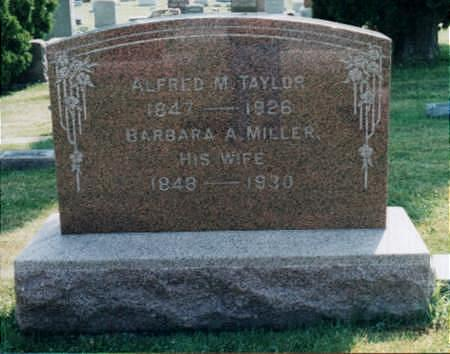 MILLER TAYLOR, BARBARA ANN - Jones County, Iowa | BARBARA ANN MILLER TAYLOR