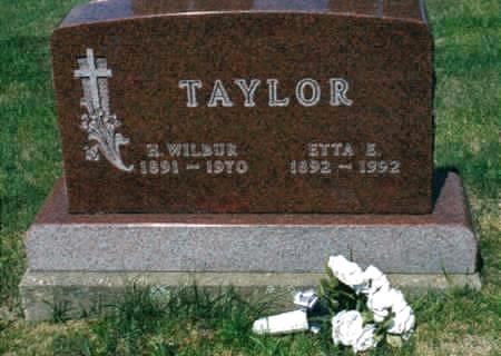 TAYLOR, HARRY WILBUR - Jones County, Iowa | HARRY WILBUR TAYLOR