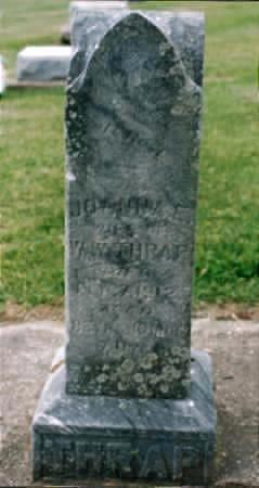 SHERMAN THRAP, JOANNAH ELIZABETH - Jones County, Iowa | JOANNAH ELIZABETH SHERMAN THRAP
