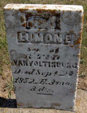 VON VOLTINBURG, LUMON E. - Jones County, Iowa | LUMON E. VON VOLTINBURG