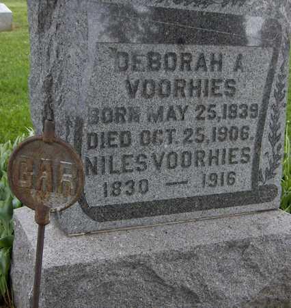 VOORHIES, DEBORAH A. - Jones County, Iowa | DEBORAH A. VOORHIES