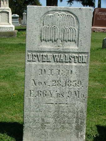 WALSTON, LEVEN - Jones County, Iowa | LEVEN WALSTON