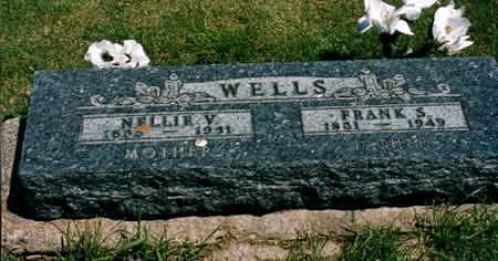 WELLS, NELLIE VENIUS - Jones County, Iowa | NELLIE VENIUS WELLS