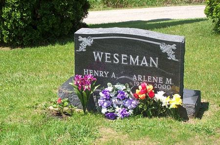 WESEMAN, ARLENE - Jones County, Iowa | ARLENE WESEMAN