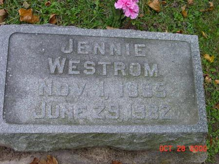 WESTROM, JENNIE - Jones County, Iowa | JENNIE WESTROM