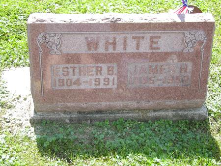 WHITE, ESTHER BERNICE - Jones County, Iowa | ESTHER BERNICE WHITE