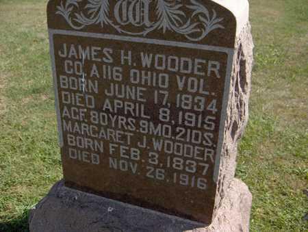 WOODER, MARGARET J. - Jones County, Iowa   MARGARET J. WOODER