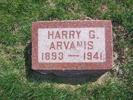 ARVANIS, HARRY G. - Keokuk County, Iowa   HARRY G. ARVANIS