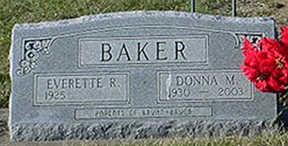 WEBER BAKER, DONNA MAE - Keokuk County, Iowa | DONNA MAE WEBER BAKER