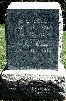ADAMS BELL, MARY - Keokuk County, Iowa | MARY ADAMS BELL