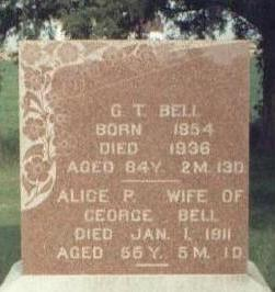 BELL, ALICE P. - Keokuk County, Iowa | ALICE P. BELL