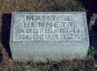 BENNETT, MARY JANE - Keokuk County, Iowa | MARY JANE BENNETT