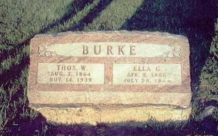 BURKE, ELLA C. - Keokuk County, Iowa | ELLA C. BURKE