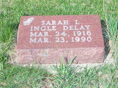 INGLE DELAY, SARAH L. - Keokuk County, Iowa | SARAH L. INGLE DELAY
