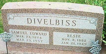 DIVELBISS, ELSIE - Keokuk County, Iowa | ELSIE DIVELBISS