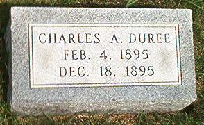 DUREE, CHARLES A. - Keokuk County, Iowa | CHARLES A. DUREE