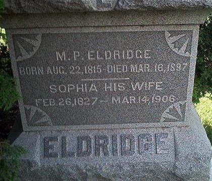 ELDRIDGE, M.P. - Keokuk County, Iowa | M.P. ELDRIDGE