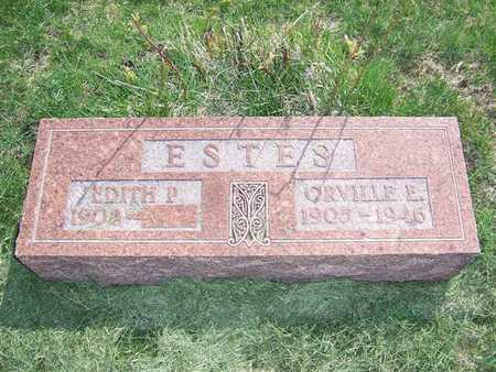 ESTES, EDITH P. - Keokuk County, Iowa | EDITH P. ESTES
