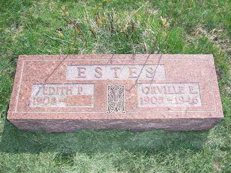 ESTES, ORVILLE E. - Keokuk County, Iowa | ORVILLE E. ESTES