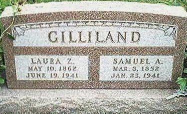 GILLILAND, LAURA Z. - Keokuk County, Iowa | LAURA Z. GILLILAND