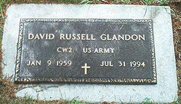 GLANDON, DAVID RUSSELL - Keokuk County, Iowa | DAVID RUSSELL GLANDON