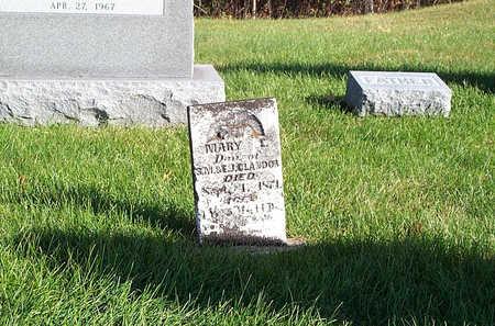 GLANDON, MARY E - Keokuk County, Iowa | MARY E GLANDON