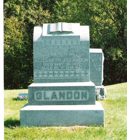 REYNOLDS GLANDON, ELIZABETH JANE - Keokuk County, Iowa | ELIZABETH JANE REYNOLDS GLANDON
