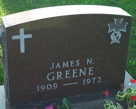 GREENE, JAMES N. - Keokuk County, Iowa | JAMES N. GREENE