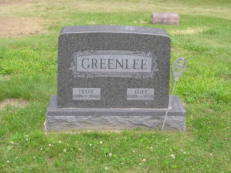 GREENLEE, MARY ALICE - Keokuk County, Iowa | MARY ALICE GREENLEE