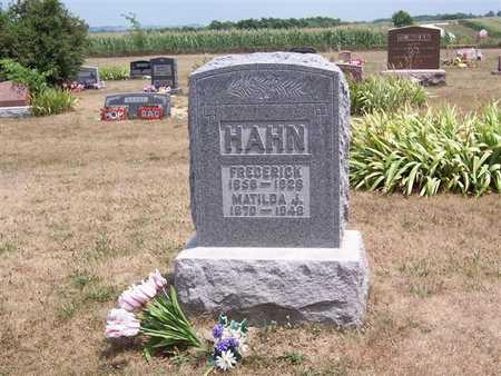 INGLE HAHN, MATILDA J. - Keokuk County, Iowa | MATILDA J. INGLE HAHN