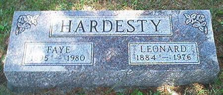 HARDESTY, FAYE - Keokuk County, Iowa | FAYE HARDESTY