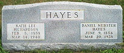 RICHARDSON HAYES, KATIE LEE - Keokuk County, Iowa | KATIE LEE RICHARDSON HAYES