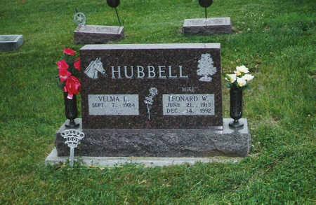 HUBBELL, VELMA - Keokuk County, Iowa | VELMA HUBBELL
