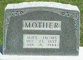 JACOBS, ALICE - Keokuk County, Iowa | ALICE JACOBS