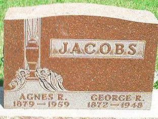 JACOBS, GEORGE R. - Keokuk County, Iowa | GEORGE R. JACOBS