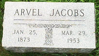 JACOBS, ARVEL - Keokuk County, Iowa | ARVEL JACOBS