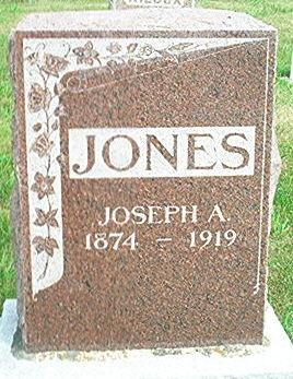 JONES, JOSEPH A. - Keokuk County, Iowa | JOSEPH A. JONES