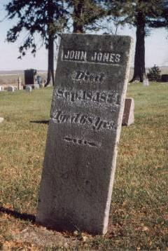 JONES, JOHN - Keokuk County, Iowa | JOHN JONES