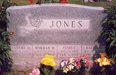JONES, ELSIE C. - Keokuk County, Iowa | ELSIE C. JONES