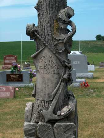 KUHN, HENRY  C. - Keokuk County, Iowa | HENRY  C. KUHN
