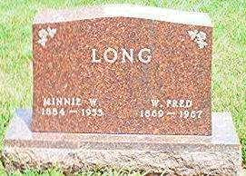 LONG, W. FRED - Keokuk County, Iowa | W. FRED LONG