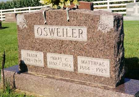 OSWEILER JR., MATHIAS - Keokuk County, Iowa | MATHIAS OSWEILER JR.
