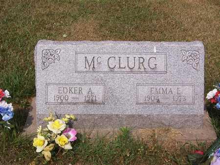 MCCLURG, EMMA E. - Keokuk County, Iowa | EMMA E. MCCLURG