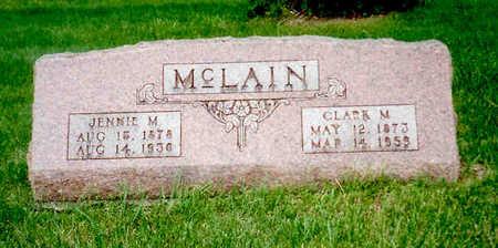 MCLAIN, CLARK M. - Keokuk County, Iowa | CLARK M. MCLAIN