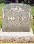MEIER, FAMILY STONE - Keokuk County, Iowa | FAMILY STONE MEIER