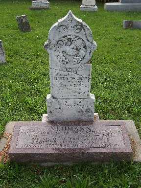 NEUMANN, ANNA ROSINA - Keokuk County, Iowa | ANNA ROSINA NEUMANN