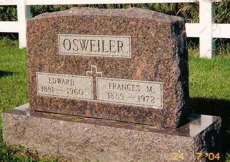 OSWEILER, EDWARD - Keokuk County, Iowa | EDWARD OSWEILER