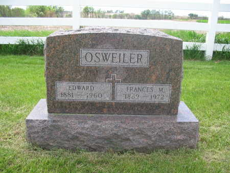 VOGEL OSWEILER, FRANCES - Keokuk County, Iowa | FRANCES VOGEL OSWEILER